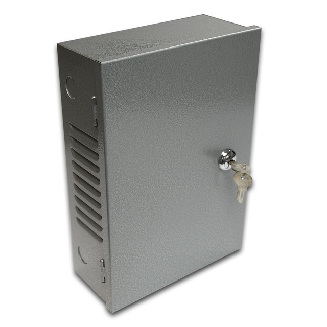 Enclosure Cabinet Alarm Locking Box Security Camera Power