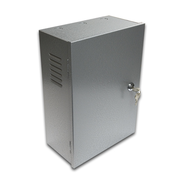Enclosure Cabinet Alarm Locking Box Security Camera Power