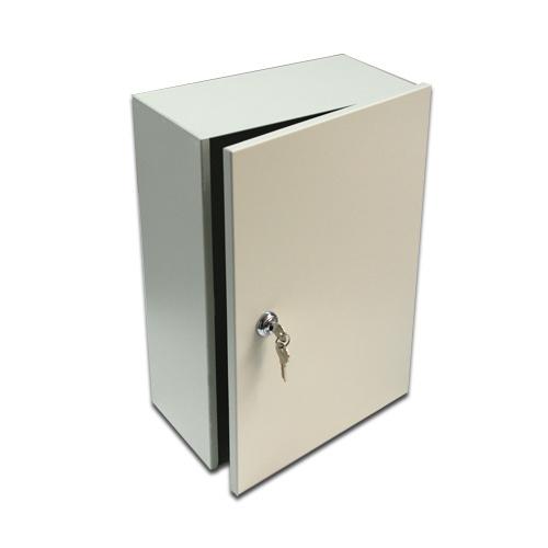 Enclosure Cabinet Alarm Locking Box Security Camera Supply Wall Mount With Lock Multi Purpose Metal Junction