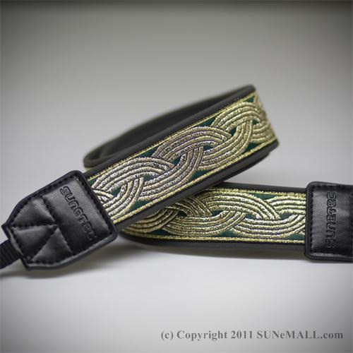Sunetec Brilliant Camera Strap- Shiny Braid