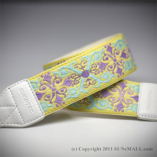 Sunetec Bohemian Camera Strap- Pale Yellow