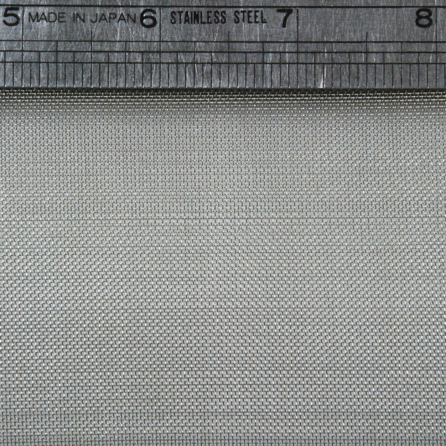 "304 Stainless Steel Woven Wire Mesh 40 mesh 6"" x 6"""