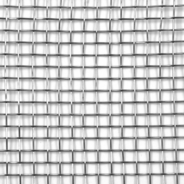 "304 Stainless Steel Woven Wire Mesh 4 mesh 6"" x 6"""