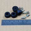 12mm Rubber Feet with Screws and Nuts