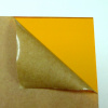 Transparent Orange Amber Acrylic Plexigrass Plastic Sheet  2.5mm