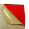 Transparent Red Acrylic Plexigrass Plastic Sheet 2.5mm