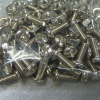 M3x8 Phillips Pan Head Steel Machine Screw and Nut